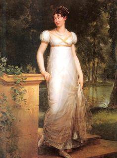 Duchess Theresa of Mecklenburg Strelitz, wearing the small diamond tiara.