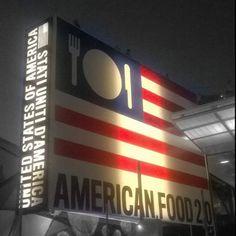 Expo Milano 2015 - America Pavilion.
