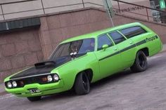 '72 Plymouth 440 Satellite Family Wagon