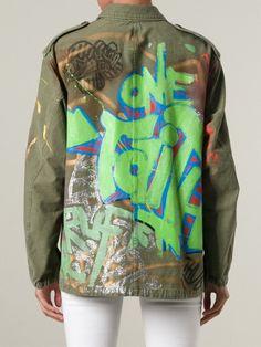 Graffiti #jacket. By Faith Connexion
