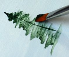 How to Paint Trees..