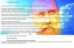 EXORTAÇÃO AO AMOR - Mensagem psicofônica do Espírito Bezerra de Menezes em 27.09.2015 - REDE AMIGO ESPÍRITA