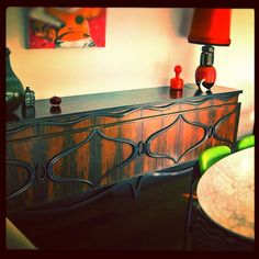 Our treasured sideboard sold yesterday . #midcentury