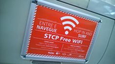 By Federico Guerrini for IT Iberia: A clever experiment in Portugal is showing how adding new technology to the city's vehicles - including garbage trucks - can be put to new uses. Caption: The free wi-fi signs on Porto's buses. Image: Veniam