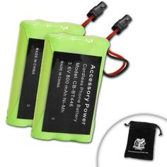 2Pack Battery for BP446  BT446  BT461  BT909  Select Uniden  Radio Shack  Southwestern Bell  Sony Cordless Phones Includes Accessory Bag >>> Check this awesome product by going to the link at the image.Note:It is affiliate link to Amazon.