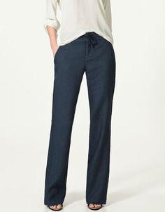 Blue Trousers $50 ...sweatpant pants?