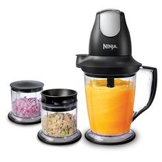 Ninja Master Prep Professional Blender, Chopper and Ice Crusher: More Power & 2 Times Faster : Amazon.com : Home & Kitchen
