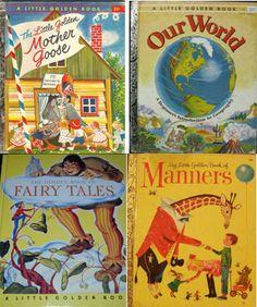 Vintage children's book make great wall art.   #projectnursery, #franklinandben, #nursery