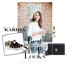 """""""Fratelli Karida"""" by aidaaa1992 ❤ liked on Polyvore featuring Alberto Guardiani, H&M and Noir Jewelry"""