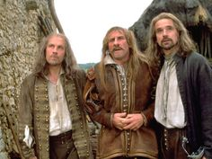 """Jeremy Irons in """"The Man In The Iron Mask"""""""