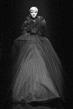 Ricardo Tisci Gothic evening dress for Givenchy