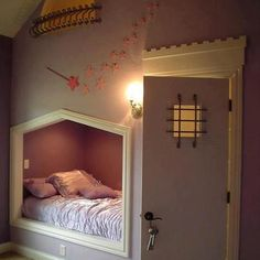 girls bed.