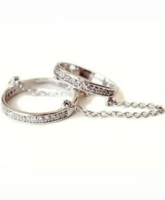 Diamond and Silver Eternity Rings