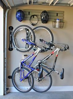Love your bike and love your organization! Hitting the trail becomes easier with Steadyrack! #GarageStorage #Biking