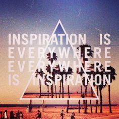 Inspiration is everywhere!