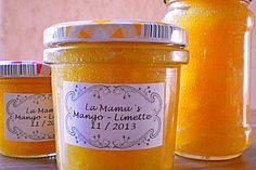 Mango - Limetten - Marmelade 1