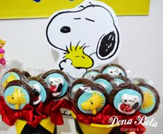Pirulitos  A turma do Snoopy: Snoopy Party, Charlie Brown, Woodstock, Sally Brown, The Peanuts, pops