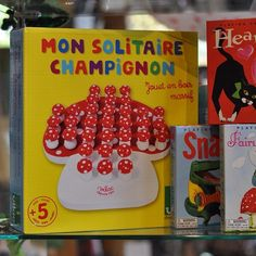 Isn't this French-made wooden peg solitaire game charming? We think it would be a perfect party gift -especially for a favorite fairy or gnome! Sold at The Children's Hour Bookstore.  898 South 900 East in Salt Lake City.  801.359.4150.  #thechildrenshour