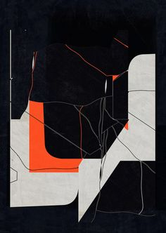 Abstract composition 489 Giclee print - 60 x 84 cm Limited edition (20) http://etsy.me/1Dxcbqr www.jesusperea.com