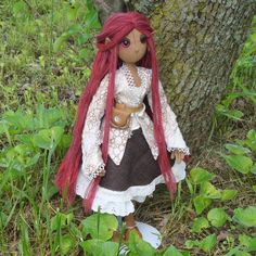 Made by Inez on craftster and is one of my all time favorite poppets.