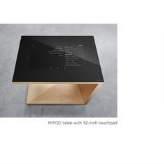M.POD - SMART KITCHEN HUB  A 32-inch touchpad as a high-tech work surface or as a DJ console. The smart functions of the kitchen are controlled centrally and intuitively. The specially hardened and optically bonded safety glass can withstand all the requirements of a kitchen countertop. It is the interface to the smart kitchen environment, to the contemporary recipe book, to the additional control panel and has made the kitchen the focal point of life due to the numerous entertainment apps… Smart Kitchen, Safety Glass, Work Surface, Control Panel, Kitchen Countertops, Interior Architecture, Bespoke, Console, Dj