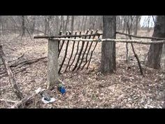 Survival Skills - Making Fire - Cooking - Shelter