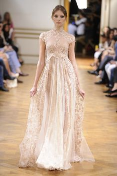 Fall 2013 Couture Trend: Evening Blush (Zuhair Murad Fall Couture 2013)