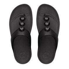 031d6ea8d FitFlop Petra™ Leather All Black http   www.fitflop-sale.