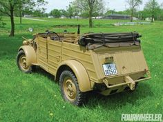 1944 Pkw Type 82 Kubelwagen - Four Wheeler Magazine