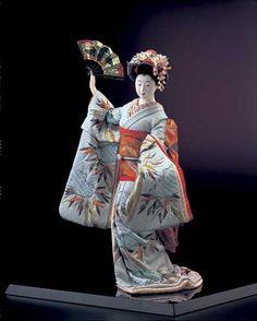Kyo ningyo made by Shisui Sekihara
