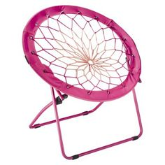 Bungee Chair Pink with Black