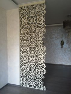 Metal laser cut partition