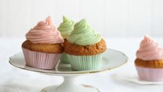 These easy vanilla cupcakes are so simple to make. Decorate with a swirl of delicious buttercream frosting.