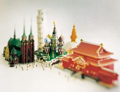 Piece of Peace World Heritage Exhibit Built with Lego Brick
