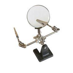 Silverline 633830 Loupe sur support mains libres 63 mm: Price:6.13Appareil polyvalent permettant de tenir la pièce travaillée lors de…