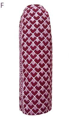 Sarong Batik - Sisik Burgundy