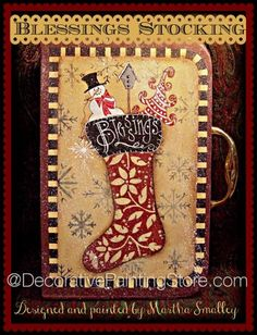Blessing Stocking Suitcase ePattern - Martha Smalley - PDF DOWNLOAD