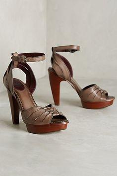 Frye Samara Twisted Heels #anthropologie
