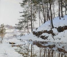 Walter Launt Palmer 1854-1932 An Early Snow