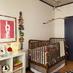 cherry jenny lind bed - this is Clemskidoodles crib--color ideas for when she has her own room