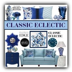 CLASSIC ECLECTIC, created by stephlo-1 on Polyvore