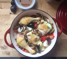 Gamze Mutfakta: Avcı Usülü Fırında Tavuk