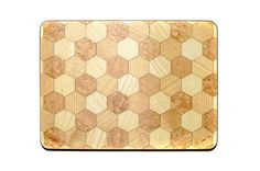 6 Placemats Buttermilk Geometric Placemats Hexagon design