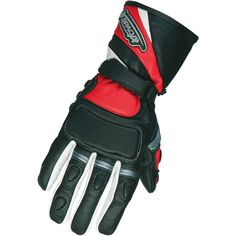 Spada Contour Leather Motorcycle Gloves  Description: The Spada Contour Motorbike Gloves are       packed with features..              Specifications include                      Quality leather                    Velcro cuff closure                    Wrist restraint                    Vented fingers                    Density...  http://bikesdirect.org.uk/spada-contour-leather-motorcycle-gloves-10/