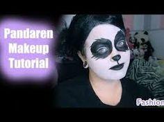 Image result for panda makeup