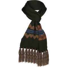 American Treasures Long Fringed Scarf - Apparel & Accessories - National Cowboy Museum