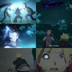 Sumire, Boruto and Mitsuki - Boruto: Naruto Next Generations