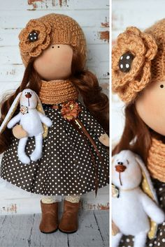 Textile doll Interior doll Baby doll Russian by AnnKirillartPlace