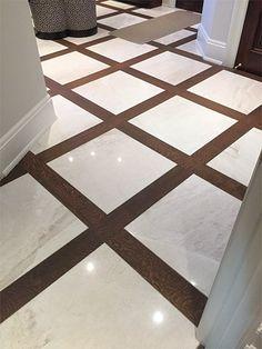 Custom Wood Floor Color From Coast to Coast Wood Floor Colors, Wood Floor Design, Tile Design, Casa Park, Entryway Flooring, Wood Flooring, Living Room Designs, Decoration, House Design