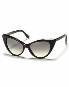 { Tom Ford Nikita Cat Eye Sunglasses }